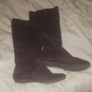 Rampage knee-length boots